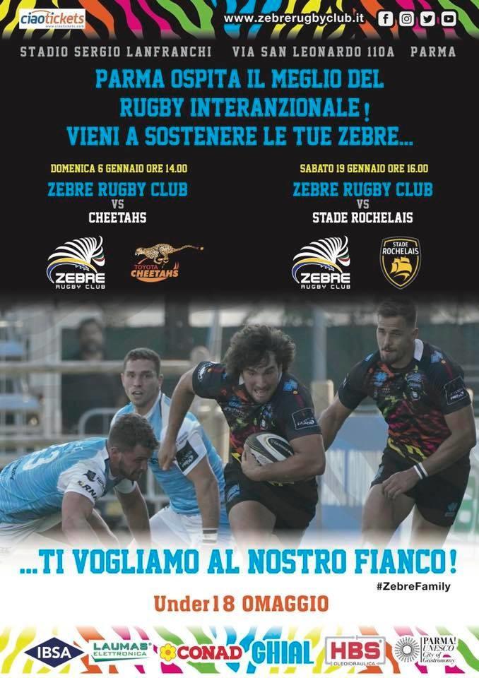 Parma ospita il meglio del rugby internazionale