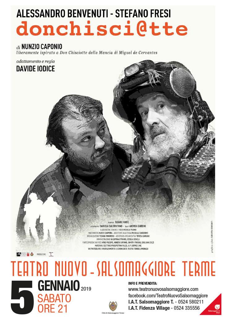 Alessandro Benvenuti e Stefano Fresi in  Don Chisci@tte