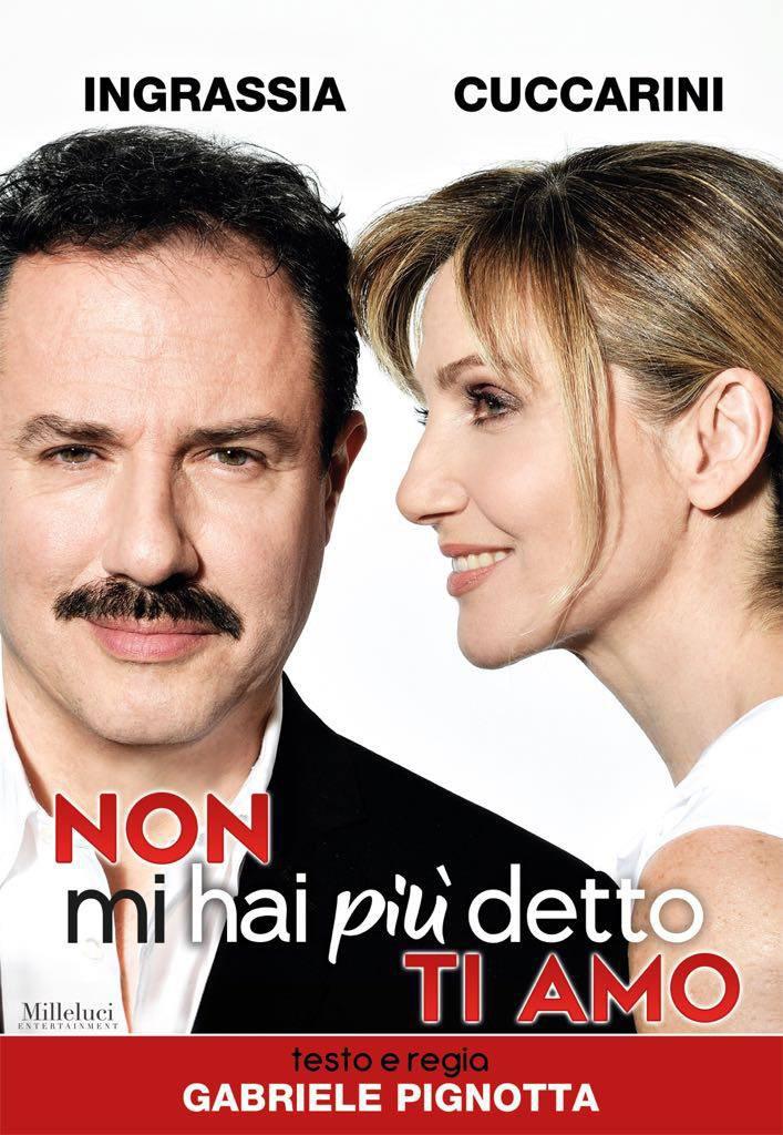 Lorella Cuccarini e Giampiero Ingrassia in  Non mi hai più detto ti amo