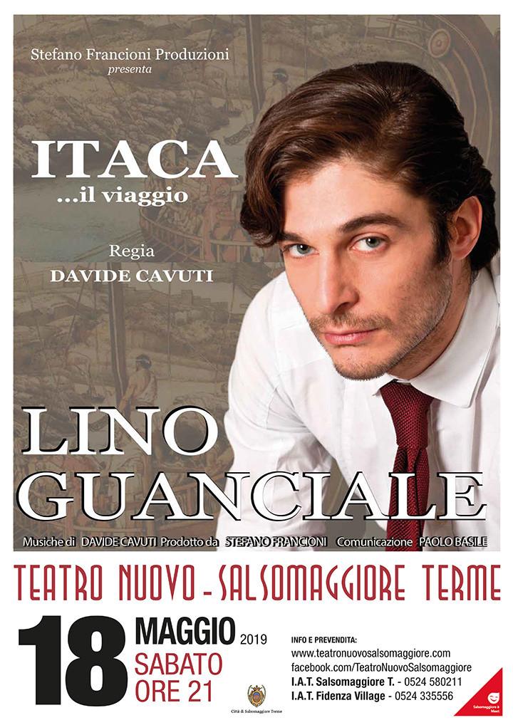 Lino Guanciale  ITACA… il viaggio al Teatro Nuovo di Salsomaggiore