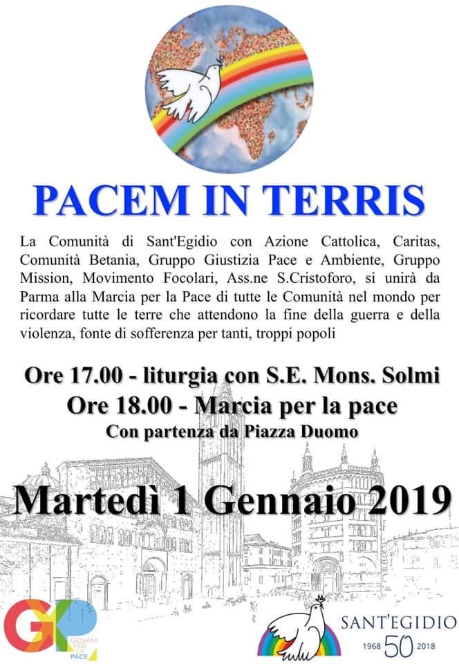 Marcia per la pace a Parma
