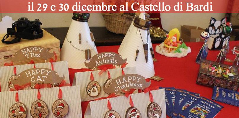 Mercato artigianale: sabato 29 e domenica 30 dicembre nel castello di Bardi