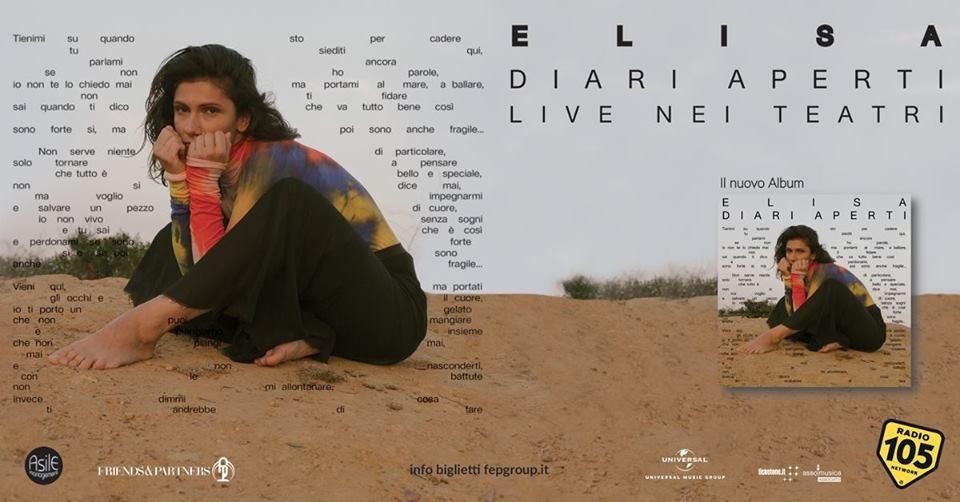 Elisa in concerto a Parma