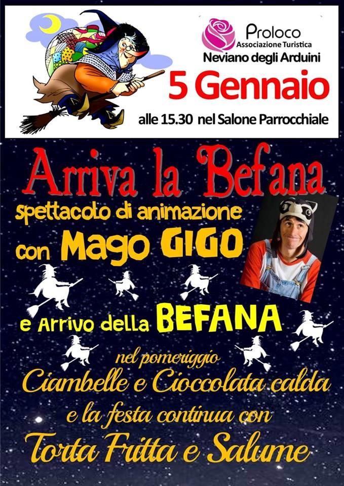 Arriva la Befana a Neviano
