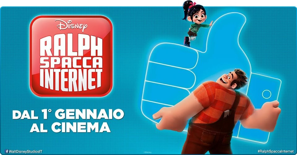 Al CINEMA GRAND'ITALIA  Ralph spacca Internet