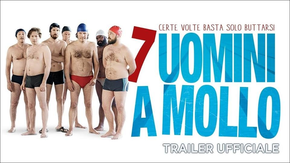"Al CINEMA GRAND'ITALIA  ""7 UOMINI A MOLLO"""