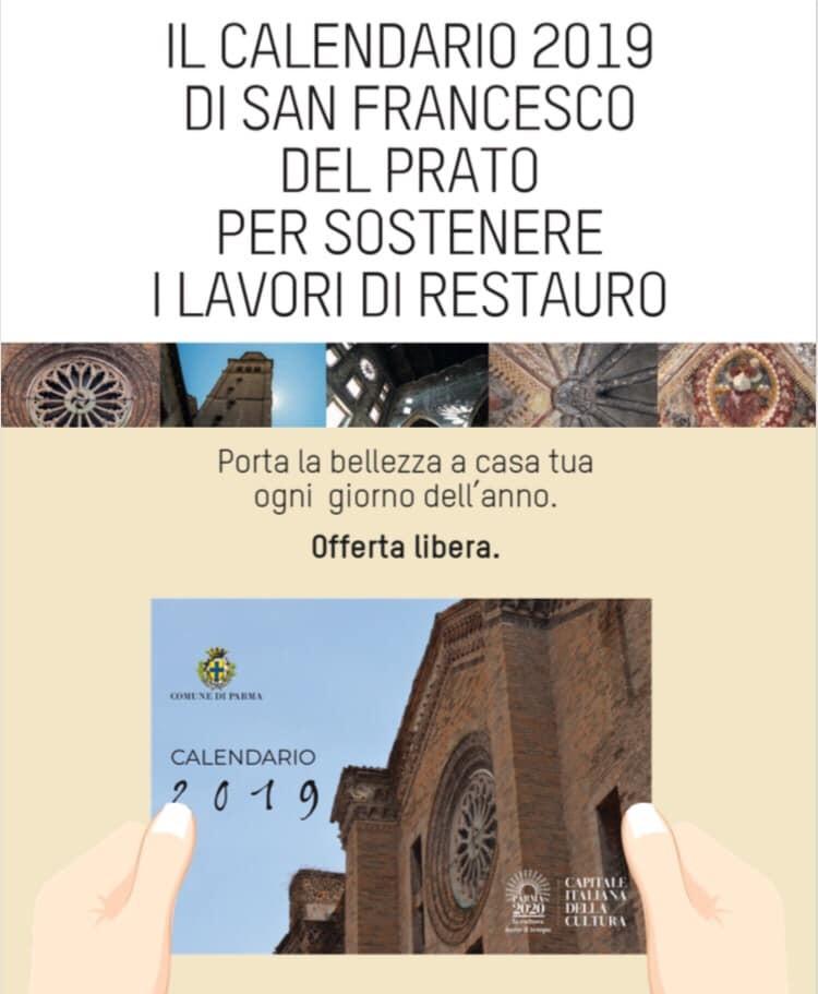 Sosteniamo i lavori di restauro della Chiesa di San Francesco del Prato comprando il calendario
