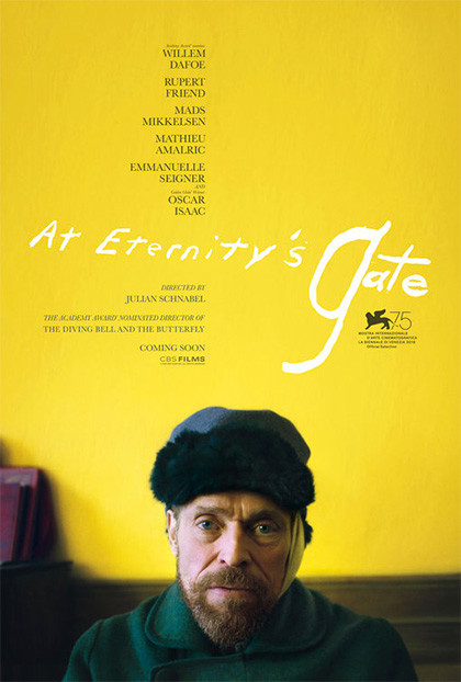 VAN GOGH-SULLA SOGLIA DELL' ETERNITA' al Cinema Astra Parma