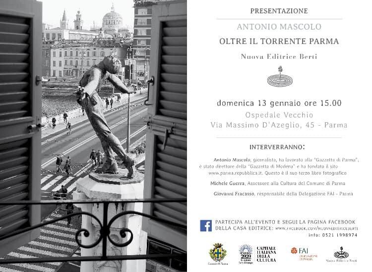 Presentazione del libro Oltre il Torrente Parma, di Andrea Mascolo