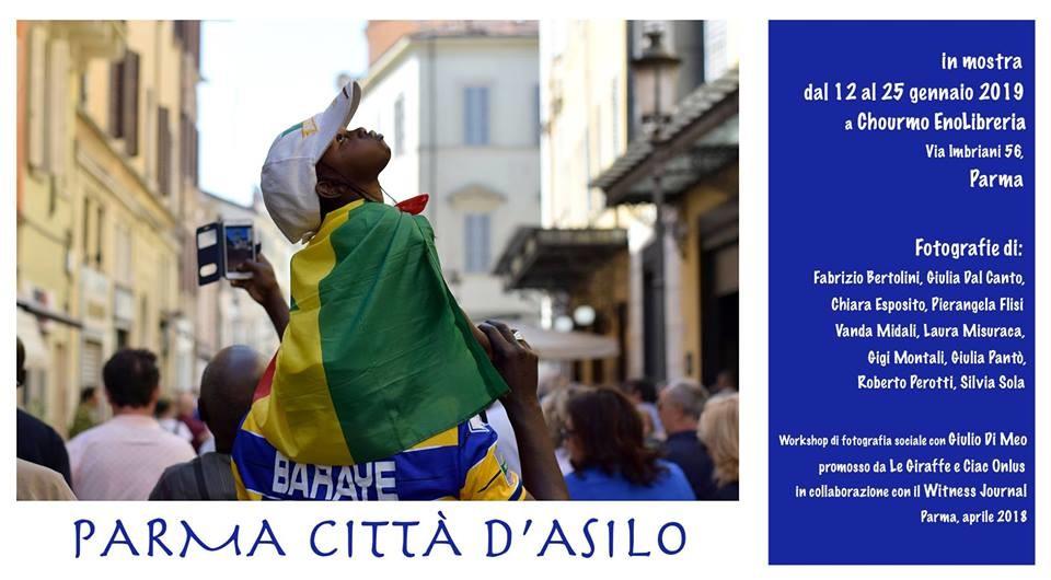 """Mostra fotografica """"Parma Città d'Asilo"""""""
