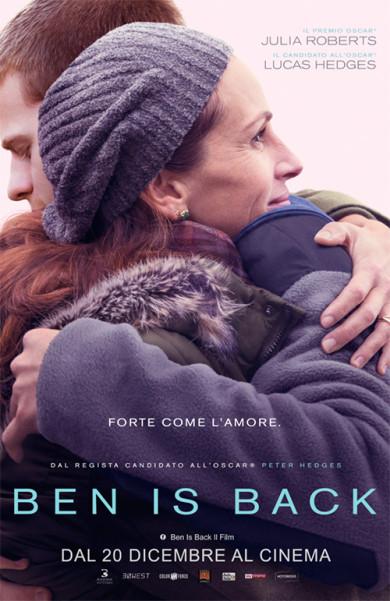"Al cinema Grand'italia ""Ben is back""."