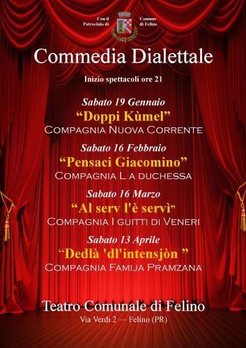 Rassegna di Commedia Dialettale a Felino