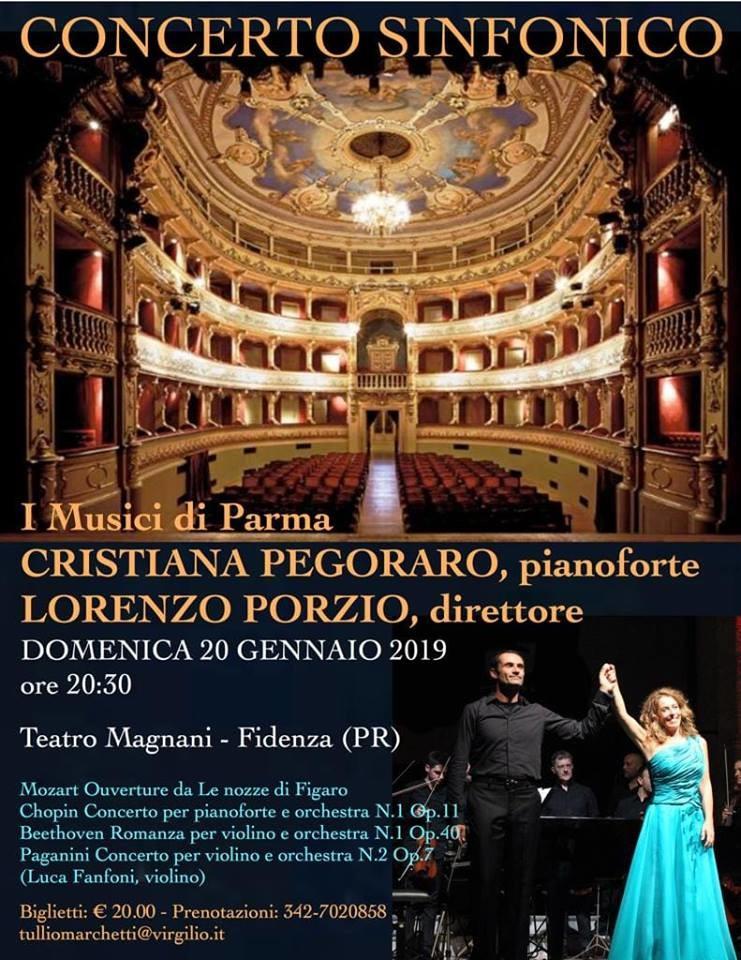 Concerto sinfonico al Teatro Magnani di Fidenza