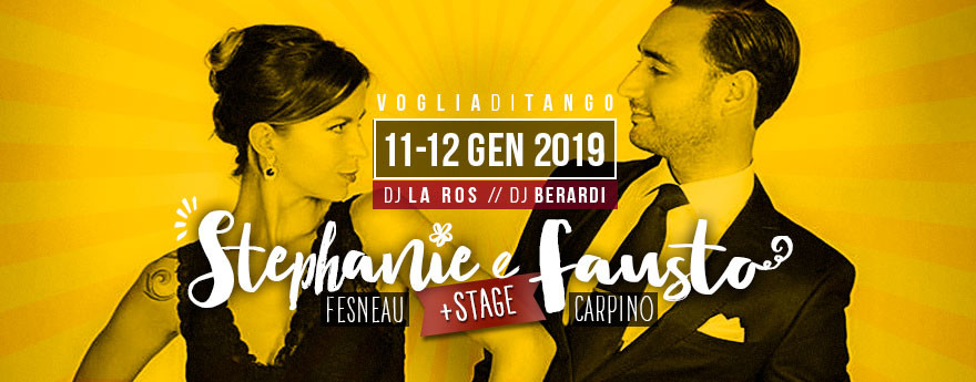 Voglia Di Tango: weekend speciale con Fausto e Stephanie