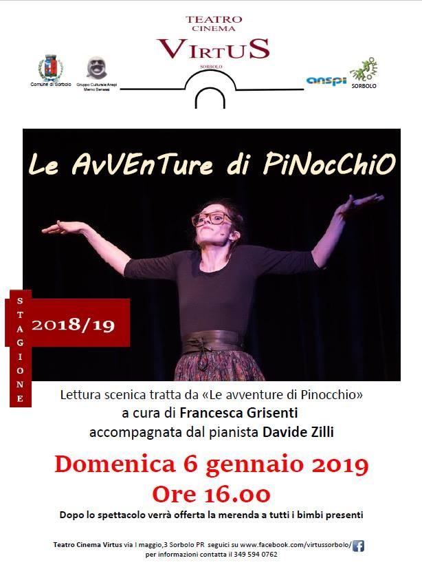 Le avventure di Pinocchio al  Cinema Teatro Virtus di Sorbolo