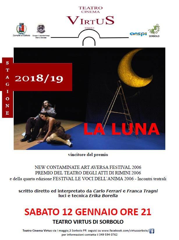 La luna al  Cinema Teatro Virtus di Sorbolo