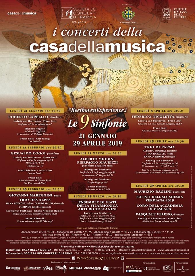 """XVII edizione de """"I Concerti della Casa della Musica"""""""