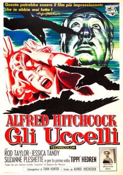 Il Cinema Ritrovato:  GLI UCCELLI (The Birds)  di Alfred Hitchcock  al Cinema Astra Parma