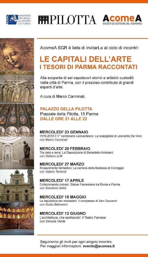 Le Capitali dell'arte. I tesori di Parma raccontati