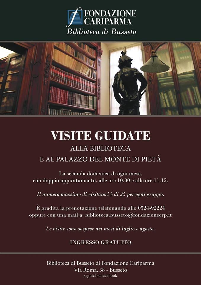 Visite guidate alla Biblioteca e al Palazzo del Monte di Pietà