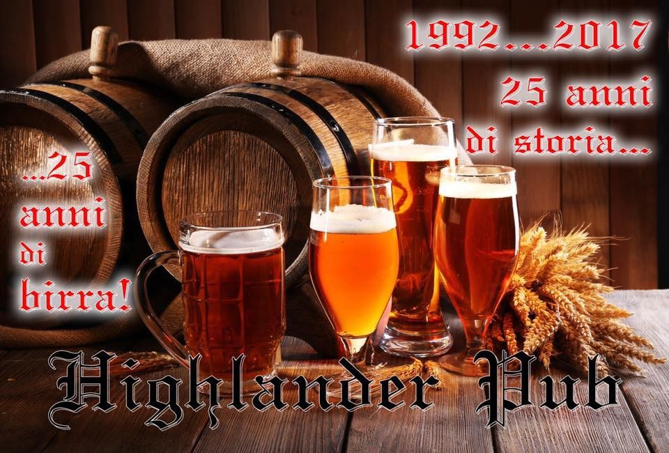 Il venerdì delle botti al pub Highlander