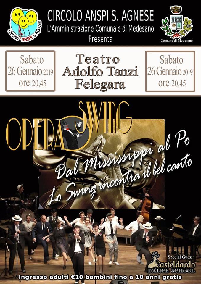 Opera Swing al teatro Tanzi