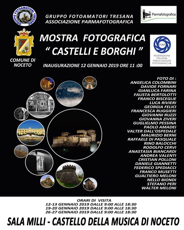 """Mostra fotografica """"Castelli e Borghi"""""""