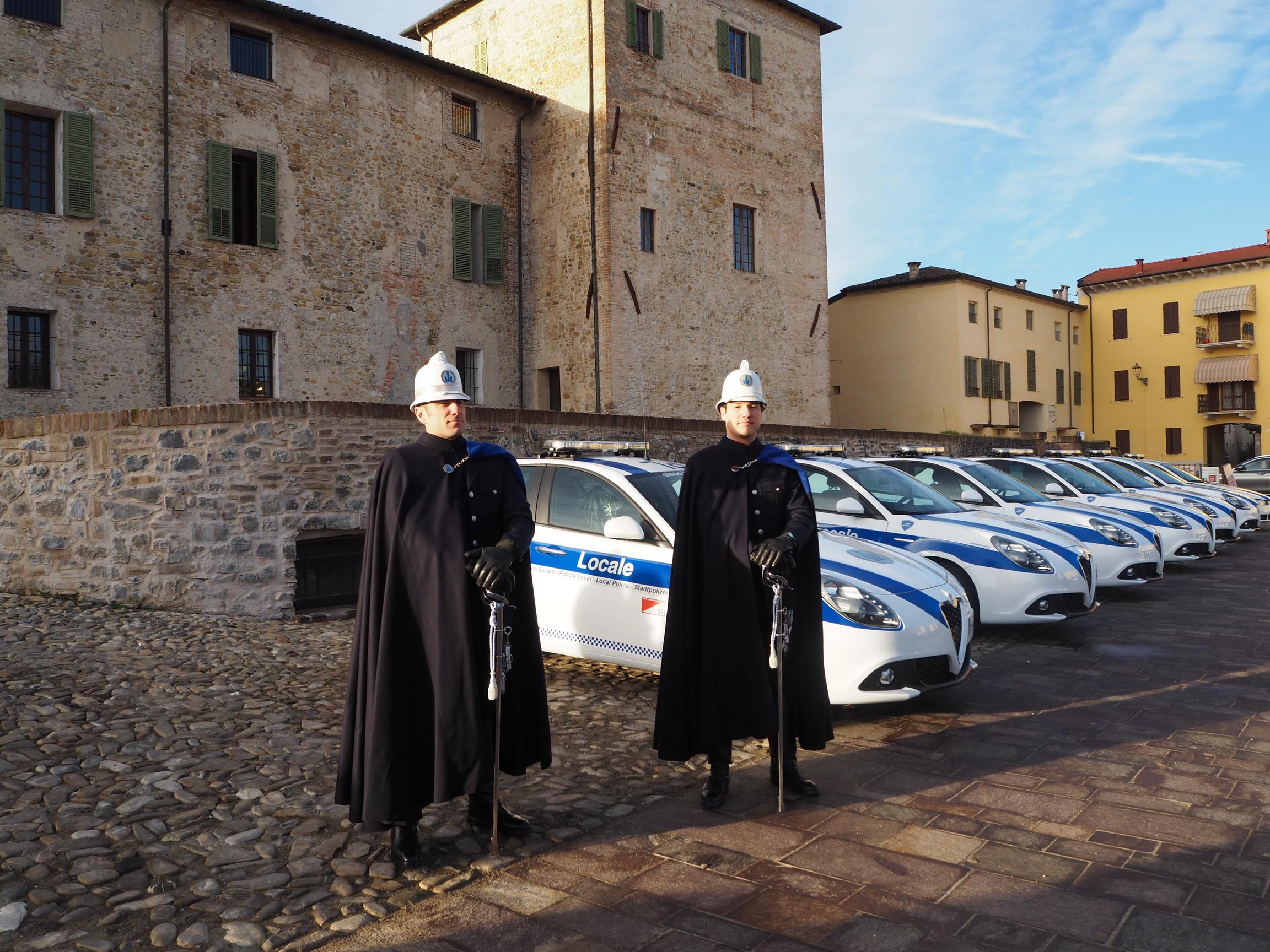 Celebrazioni di San Sebastiano del Corpo di Polizia Locale dell'Unione Pedemontana Parmense