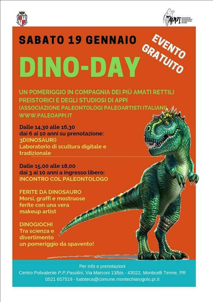 DINO-DAY  alla Biblioteca di Monticelli Terme
