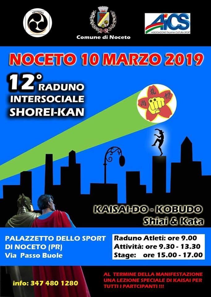 Raduno Shorei kan a Noceto