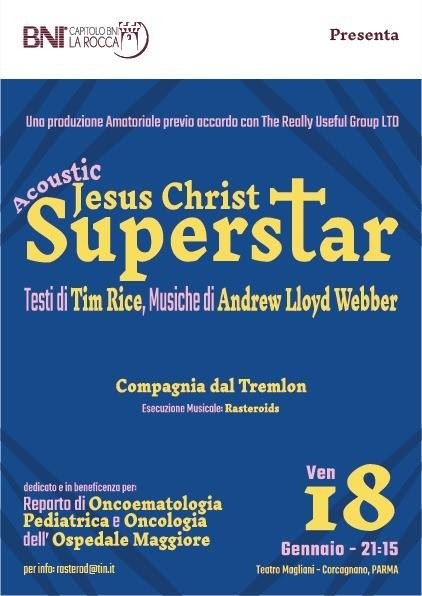 Acoustic Jesus Christ Superstar al Teatro Ennio Magliani