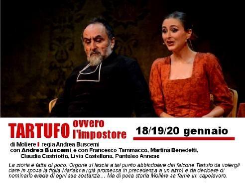 """PROMO  SPECIALE """"TARTUFO ovvero l'impostore""""  di Molière al TEATRO PEZZANI"""