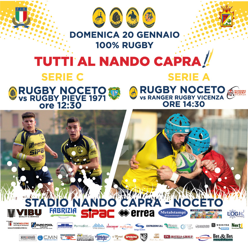 SERIE A Rugby Noceto F.C.vs Ranger Rugby Vicenza