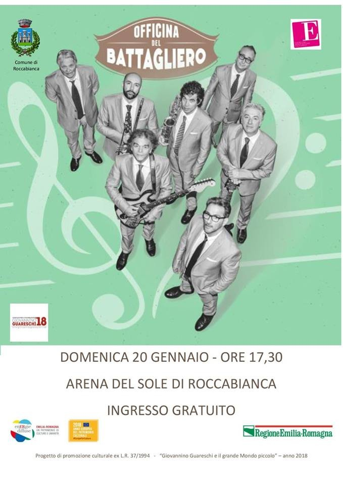 Officina del battagliero all' Arena del Sole Roccabianca