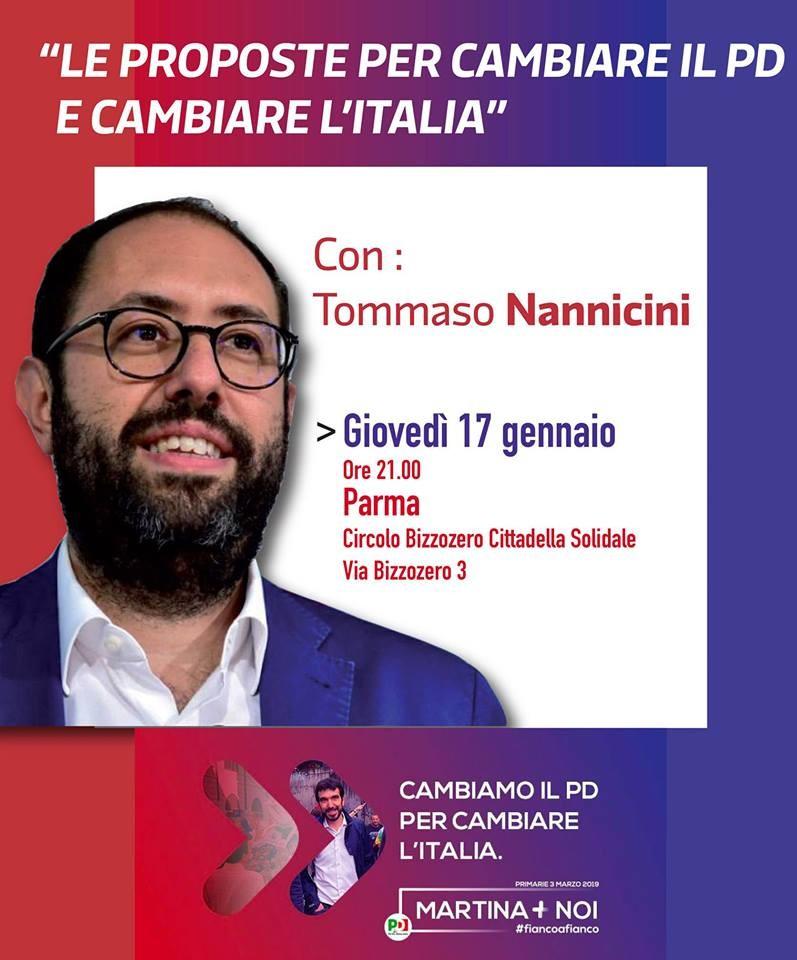 Tommaso Nannicini - Le Proposte per il PD e il Paese