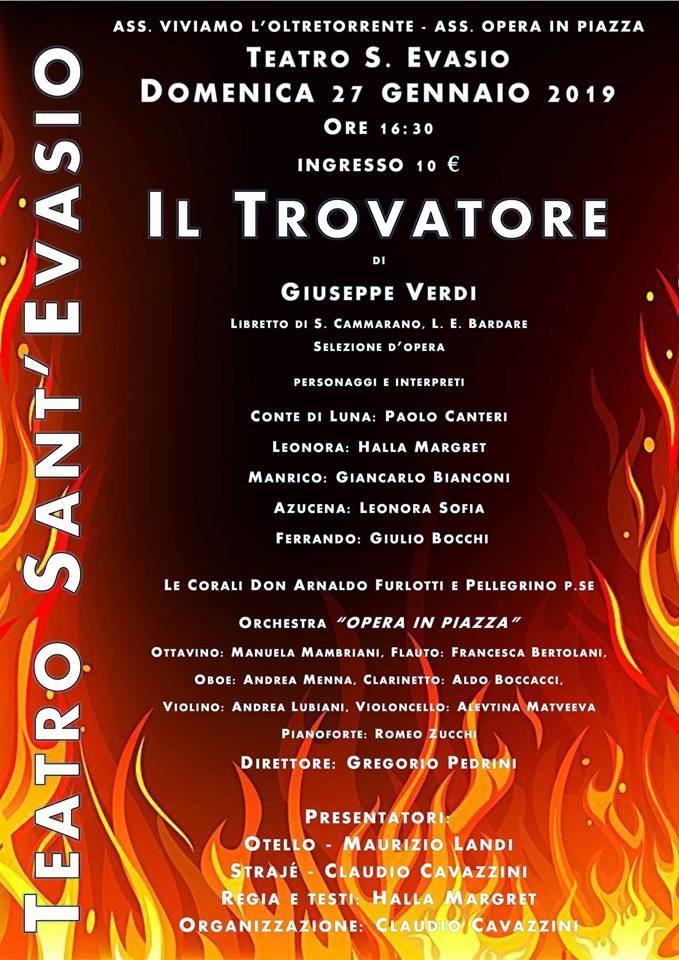 Il Trovatore a Teatro S. Evasio