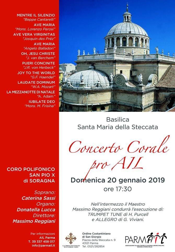Concerto corale pro AIL nella chiesa della Steccata