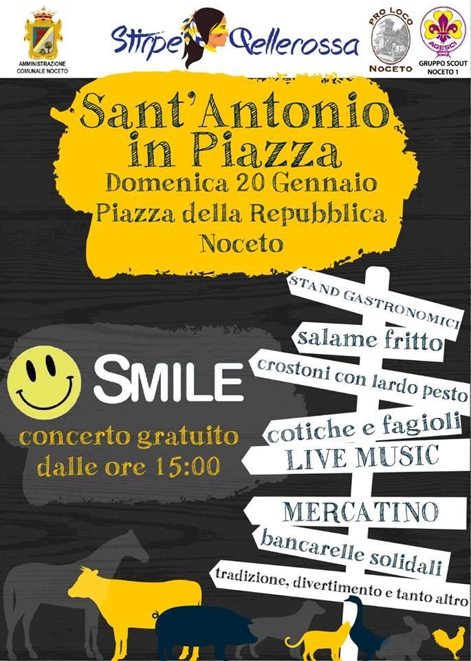 Sant'Antonio in piazza a Noceto