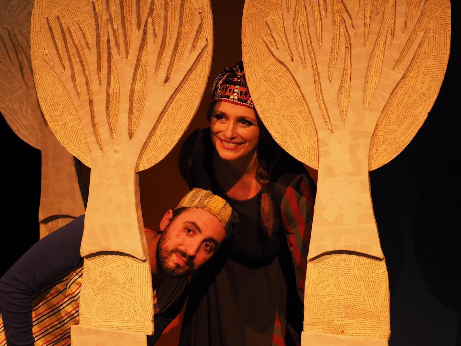 Il Teatro dell'Orsa porta Poesie sotto l'ombrello  alla Biblioteca Cesare Pavese di Parma