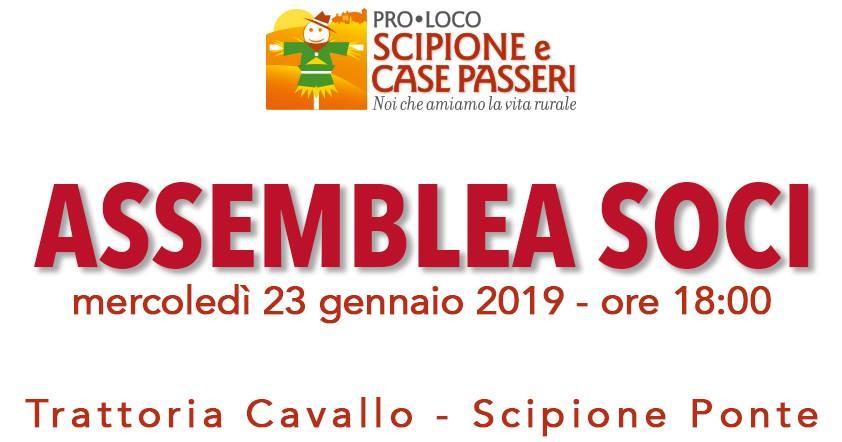 Pro Loco Scipione e Case Passeri. incontro per conoscere l'associazione