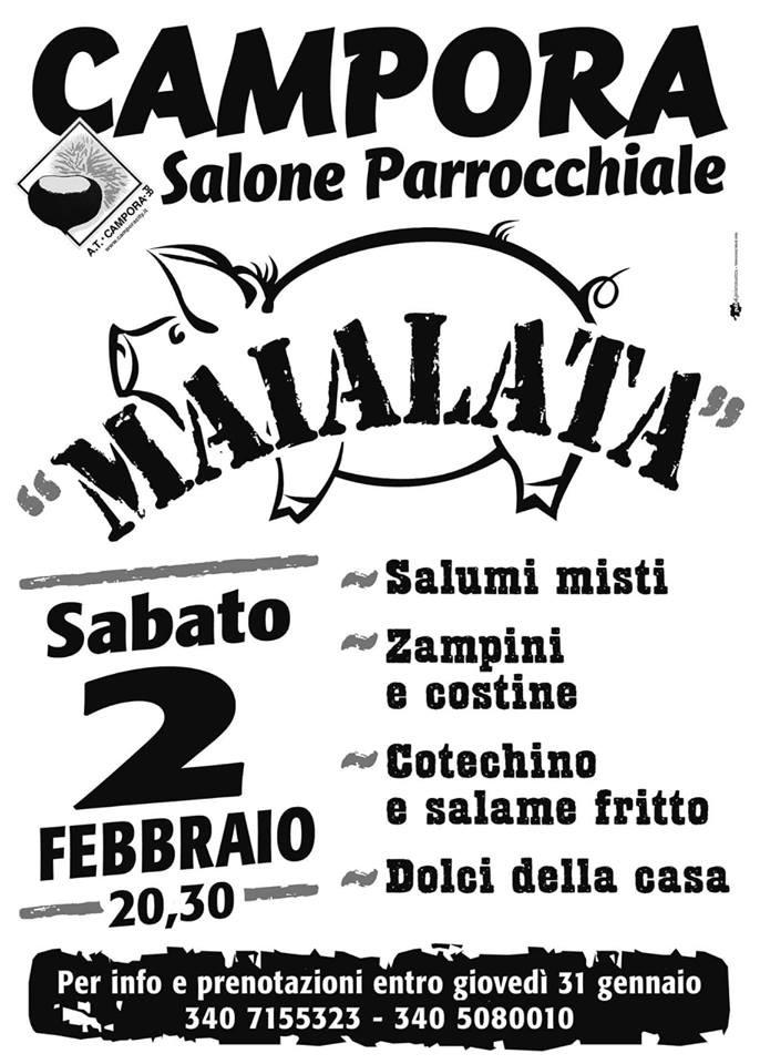"La ""Maialata""  a Campora"