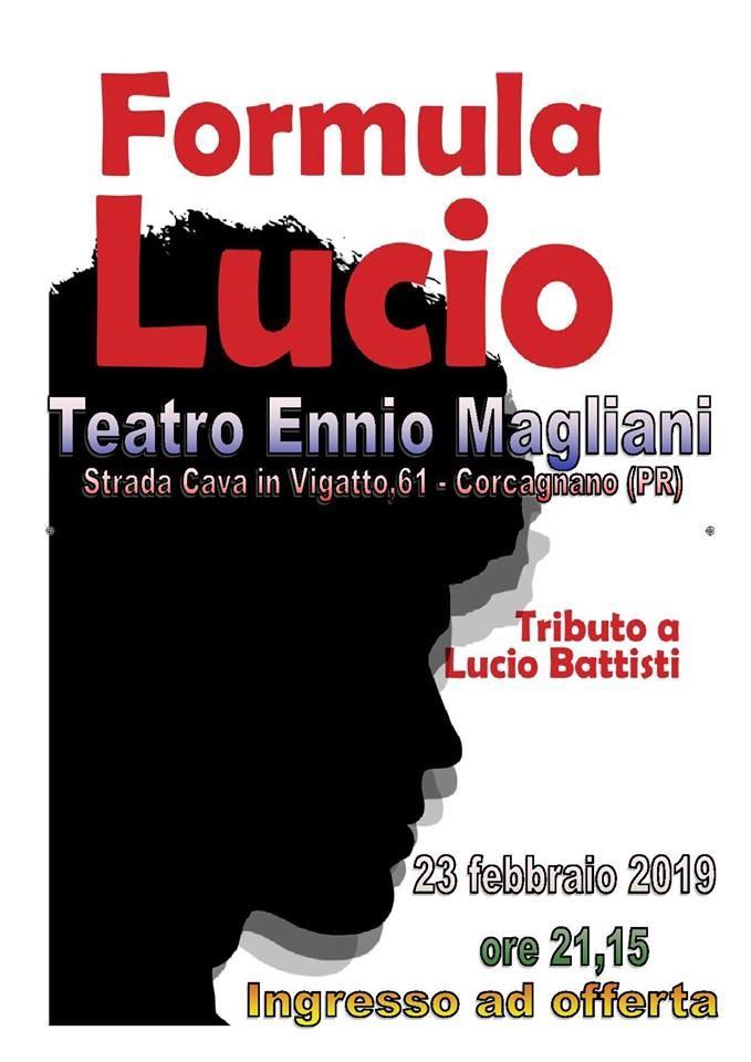 Formula Lucio - tributo a Lucio Battisti al Teatro Ennio Magliani