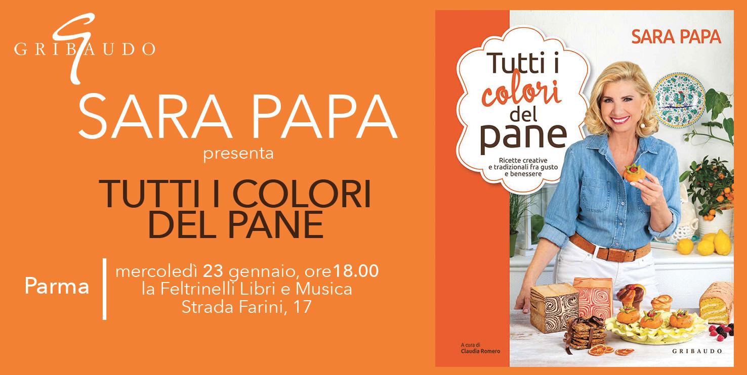 """Sara Papa, presenta il libro """"Tutti i colori del pane"""""""