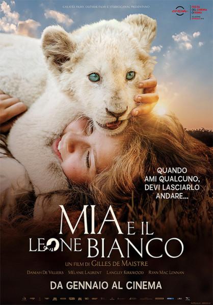 Al CINEMA GRAND'ITALIA  MIA E IL LEONE BIANCO