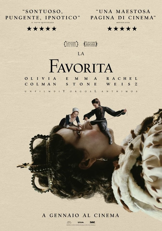 THE FAVOURITE (La favorita) al Cinema D'Azeglio