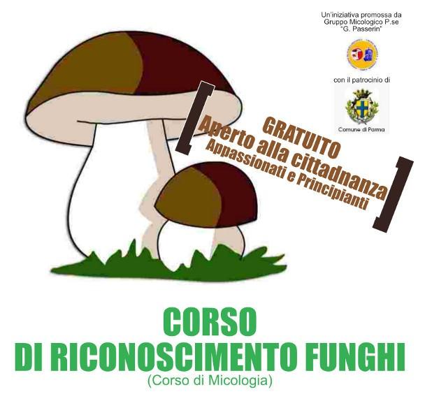 Corso di riconoscimento funghi a Parma