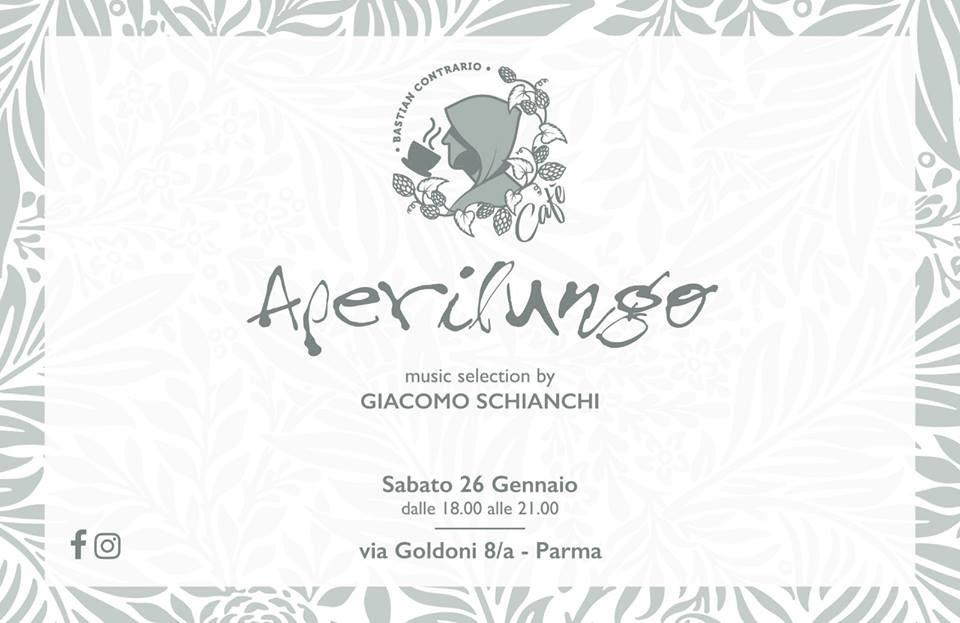 Aperilungo w/ Giacomo Schianchi al BASTIAN CONTRARIO CAFE'