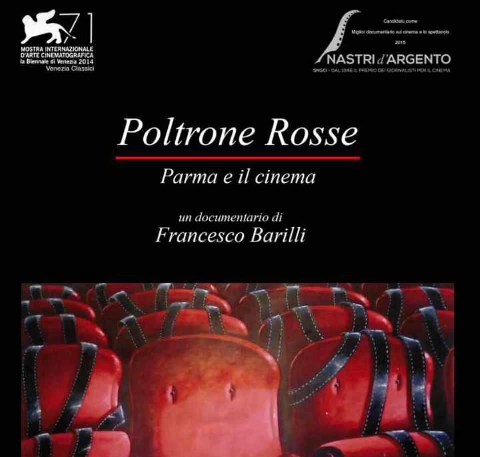 """Presentazione di """"Poltrone Rosse"""" di Francesco Barilli"""