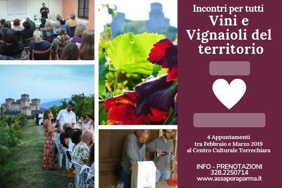 Incontri con vini e vignaioli del territorio a Torrechiara