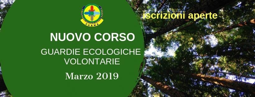 Corso 2019 Guardie Ecologiche Volontarie